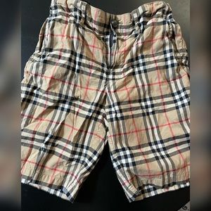 Kids Burberry shorts